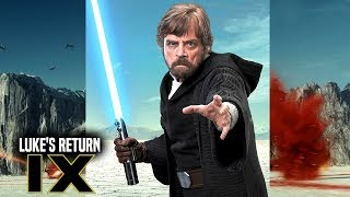 Star Wars Episode 9 Luke's Return Teased! (Star Wars News)