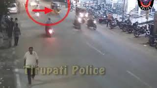. Auto Vs Pedestrian Accident @ Bhavani Nagar Circle