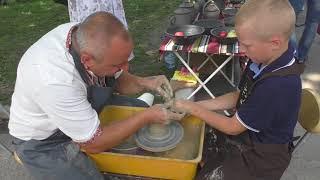 як зробити горщик з глини