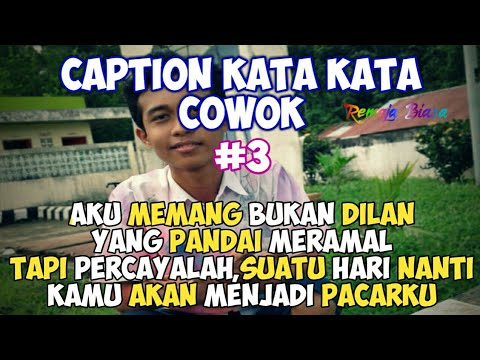 caption cowok keren status wa status foto quotes remaja part