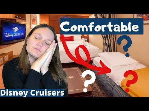 Shunned to the Disney Cruise Sofa Bed + Bloopers