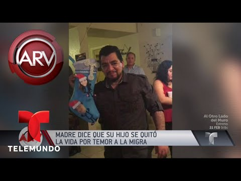 Tragedia familiar, prefirió morir a ser deportado | Al Rojo Vivo | Telemundo