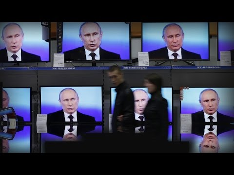 How the Kremlin uses TV to shape Russian political 'reality'