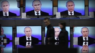 How the Kremlin uses TV to shape Russian political 'reality