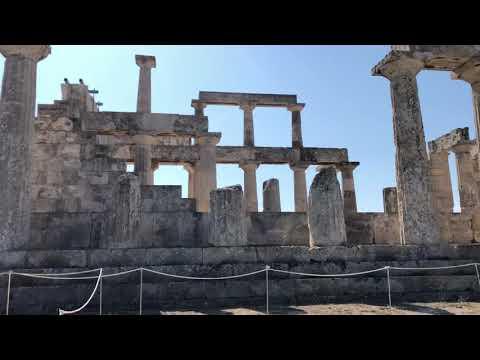 Temple Of Aphaia, Aegina Greece