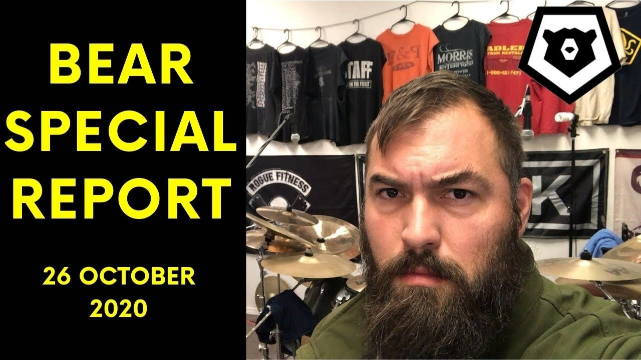 Cue the Election - Bear Special Report, 26 OCT 2020 - download from YouTube for free