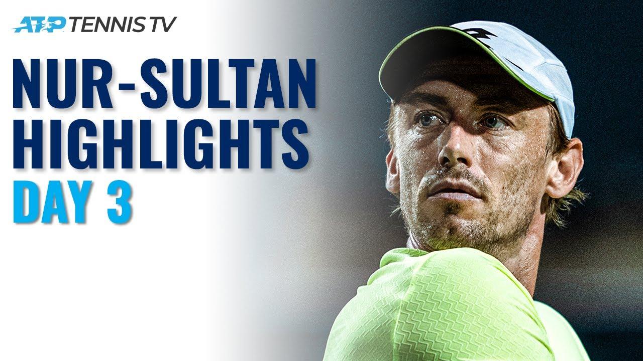 Download Millman Faces Munar; Djere & Ivashka Also In Action | Nur-Sultan 2021 Day 3 Highlights