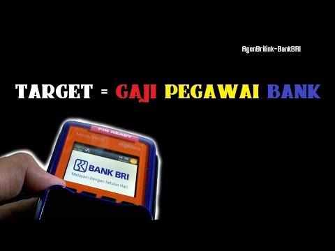 Target Anda AgenBrilink Agar Bisa Dapat Fee = Gaji Pegawai Bank