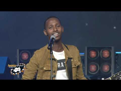 Israel Mbonyi Live Performance in Iwacu Muzika Festival 2020