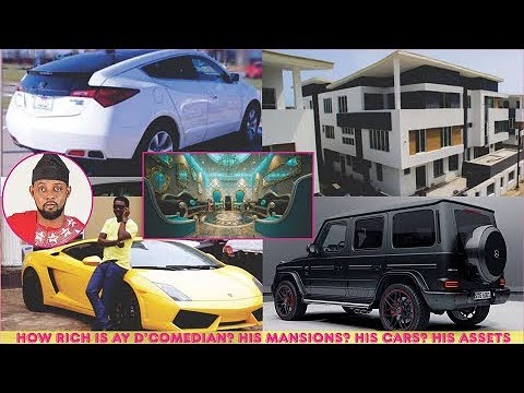 how rich is AY D'Comedian?  ► All His Mansions, Cars, Luxuries & Assets