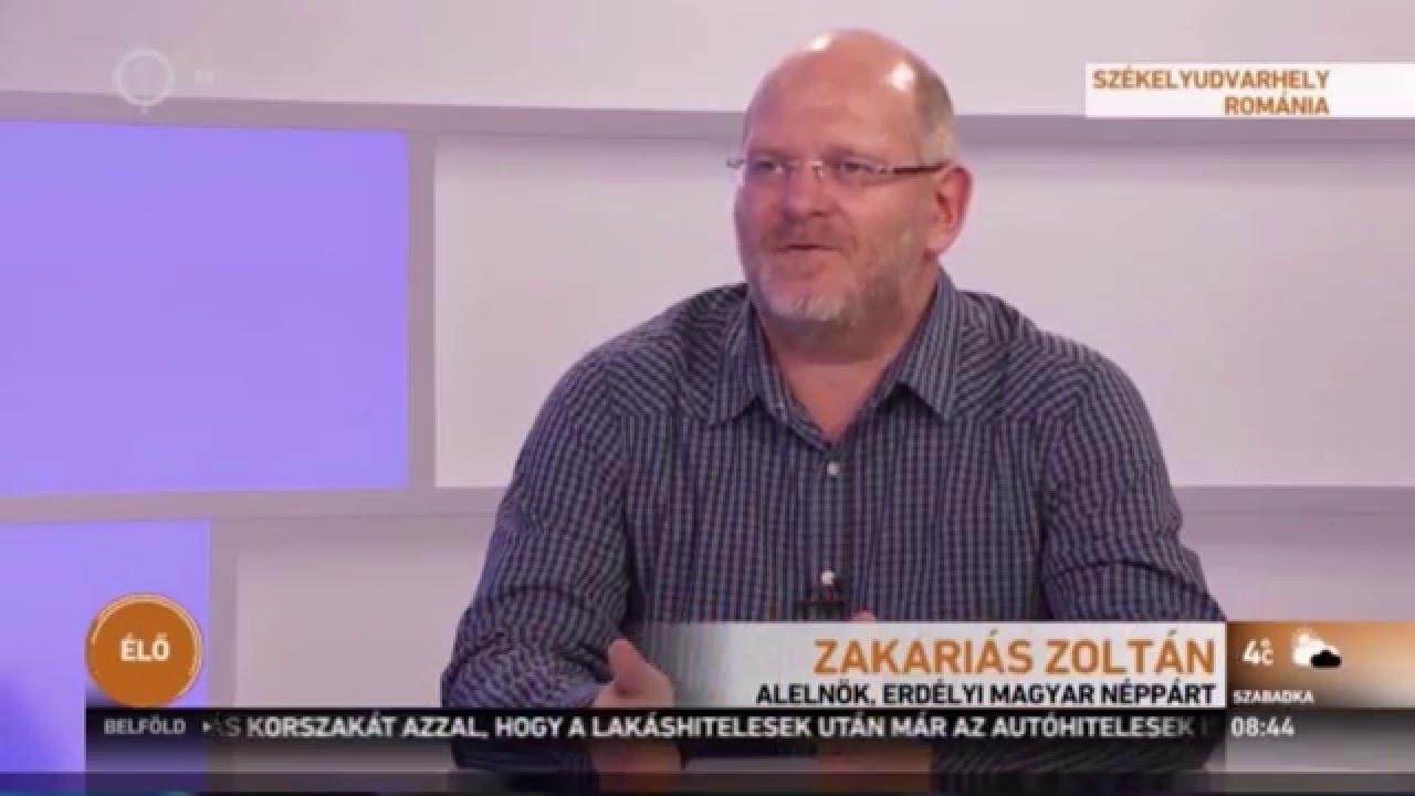 Terrorvád: a román-magyar viszonyról - Zakariás Zoltán, a Néppárt alelnöke  - YouTube