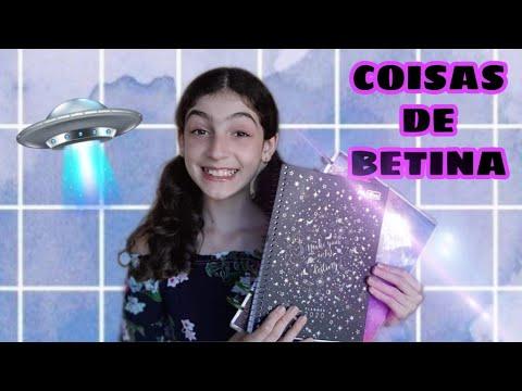 MEUS CADERNOS DE DISCO E PLANNER 2020! / COISAS DE BETINA!!
