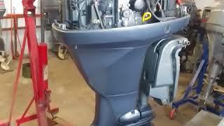 Yamaha 115 4т запуск обзор замер компрессии от АквацентрДВ 89240000030, 89147077165 Японские лодочны