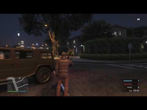 Grand Theft Auto V GTA V ONLINE a little killing after tennis lol.......
