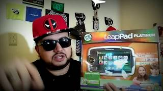 LeapPad Platinum Unboxing Full Review Kids Tablet By Leap Frog How To Tutorial First Time Setup