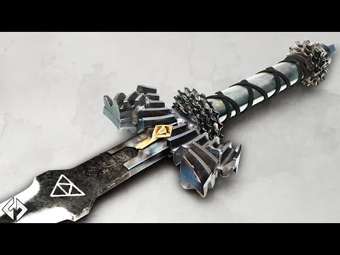 Forging Link's Master Sword (Post Apocalyptic Version) | By Keaton Goddard
