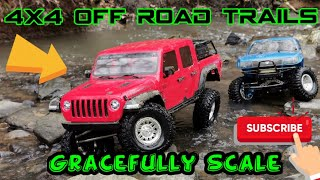 SCALE RC TRAILING 2/2 | AXIAL SCX10.3 GLADIATOR | AXIAL SCX10 | GRACEFUL RC CARS