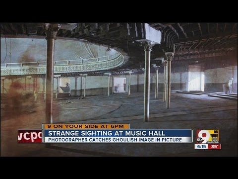 Ghost sightings at Cincinnati Music Hall?