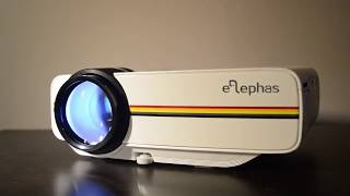 Домашний проектор Цена-Качество YG-400 и YG-500. Проектор для дома.