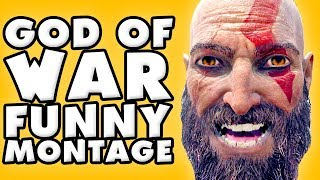 God of War Funny Moments Montage!