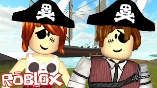 Roblox - ESCAPE DO PIRATA COM A CRIS MINEGIRL