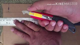 How to cut Acrylic sheet? Full tutorial HD (Hindi/Urdu)