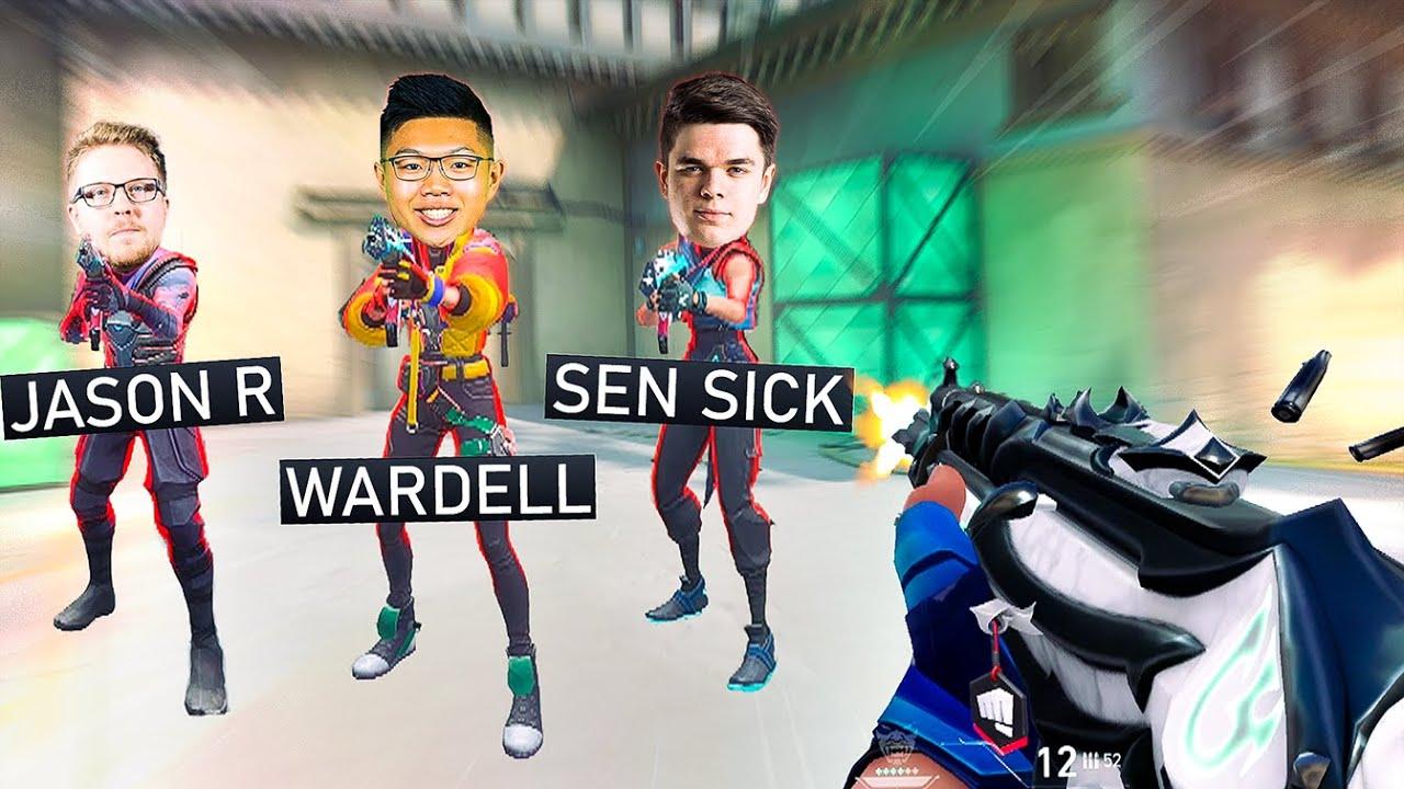 So I played against Wardell, SEN SicK & JasonR... (Feat. 100T Asuna)