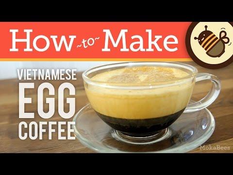 How to Make Vietnamese Egg Coffee (Liquid Tiramisu Recipe) - Cà Phê Trứng Coffee Recipe