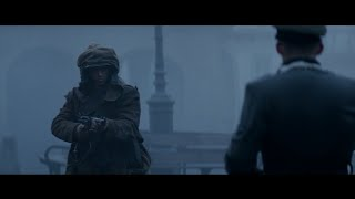Fury - Waffen SS Officer execution scene HD