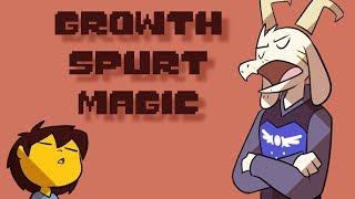 Growth Spurt Magic (Undertale Comic Dub- Growth Spurt AU)