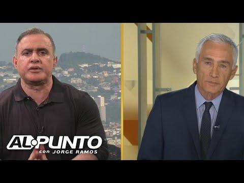 Tensa entrevista de Jorge Ramos con Tarek William Saab, Defensor del Pueblo de Venezuela