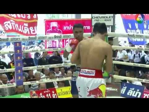 เอกตะวัน ม.กรุงเทพธนบุรี vs แกสเปอร์ แอมโพโล Eaktawan Mor Krungthepthonburi vs Gaspar Ampolo