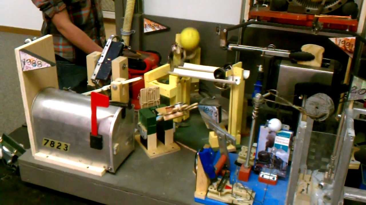 Purdue team smashes Rube Goldberg world record