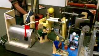 Purdue team smashes Rube Goldberg world record