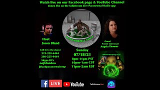 Paranormal Soup Ep 277 guest Psychic Clairvoyant Angela Thomas