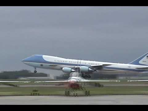 Andrews AFB Airshow 2009 - Air Force One departure - YouTube Andrews Afb