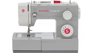 Aula de manuseio máquina de costura Singer Facilita Pro 4411