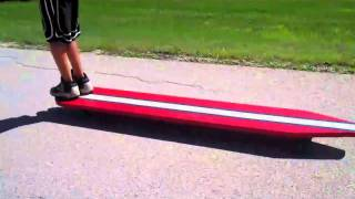 Cruisin On a Giant Longboard
