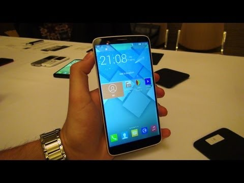 Hands-On: Alcatel One Touch Hero & E-Ink Cover | SwagTab