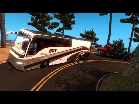 Bus Volvo 9700 | Espinazo del Diablo | De Durango a Mazatlán, Sinaloa, México