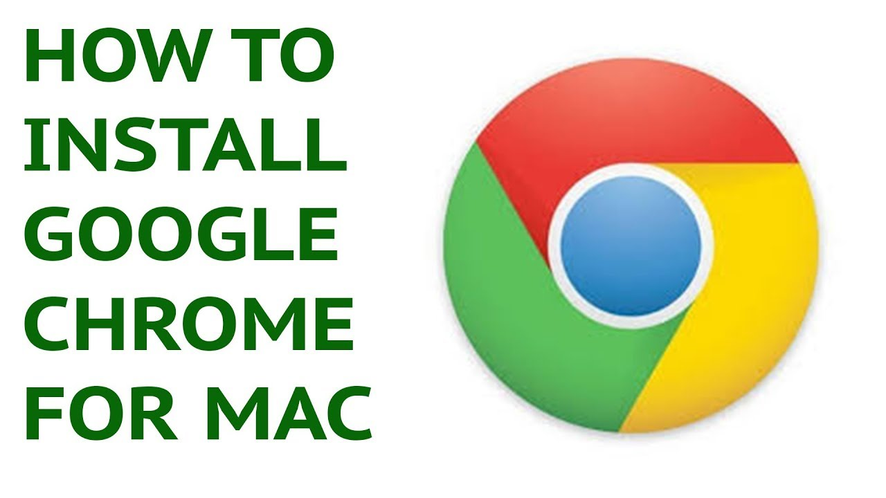HOW TO Install CHROME on a MAC