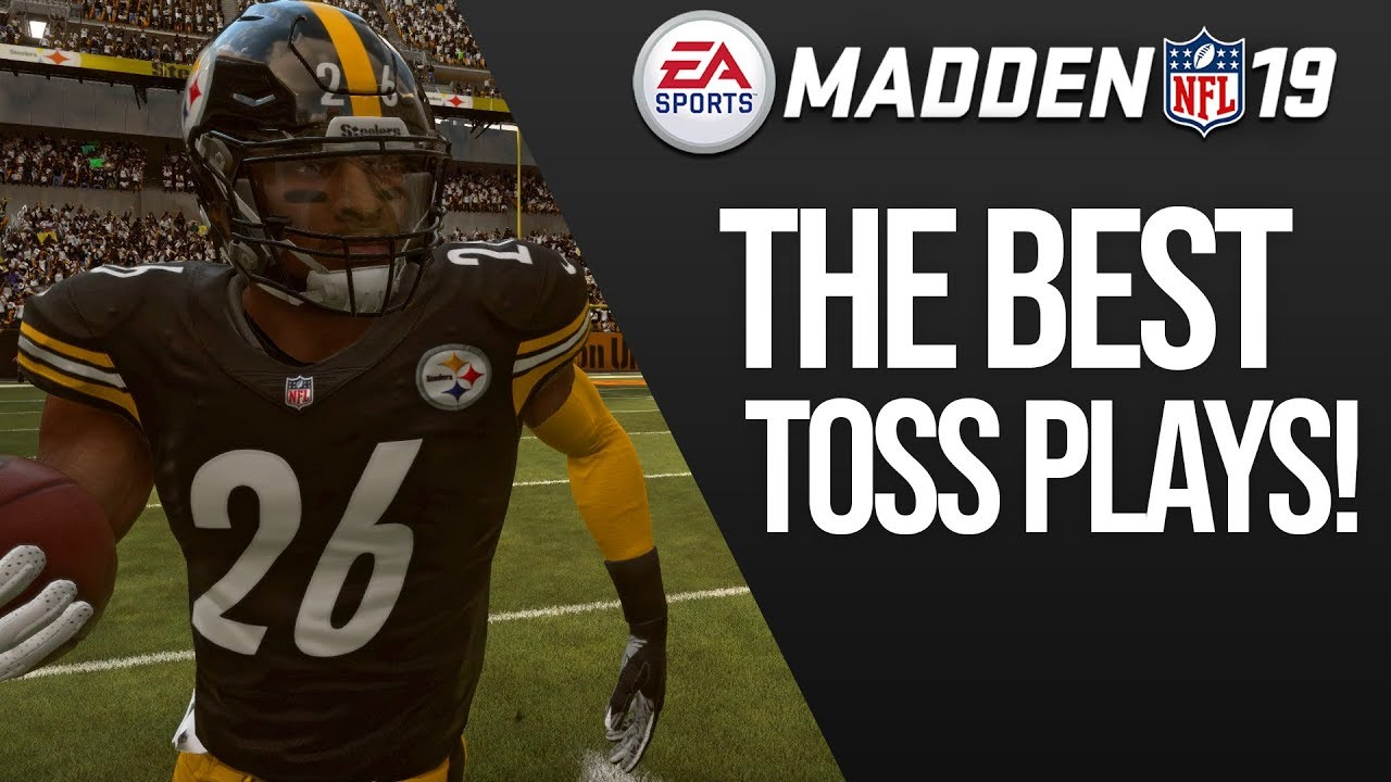 The Top 5 BEST Toss Plays In Madden 19 - Run All Over The Defense!