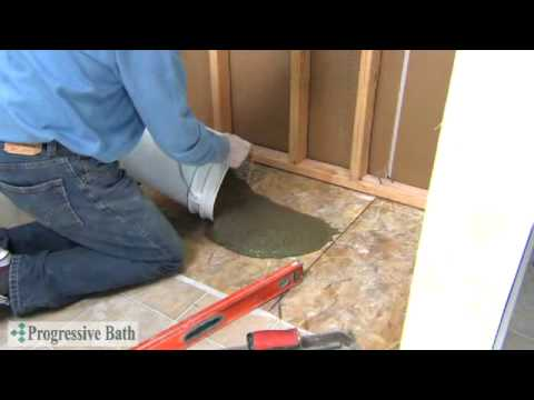 Tile Made Easy Shower Pan Installation