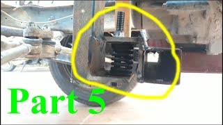 Install the machine and reduce vibration for homemade - Cargo cars part 5