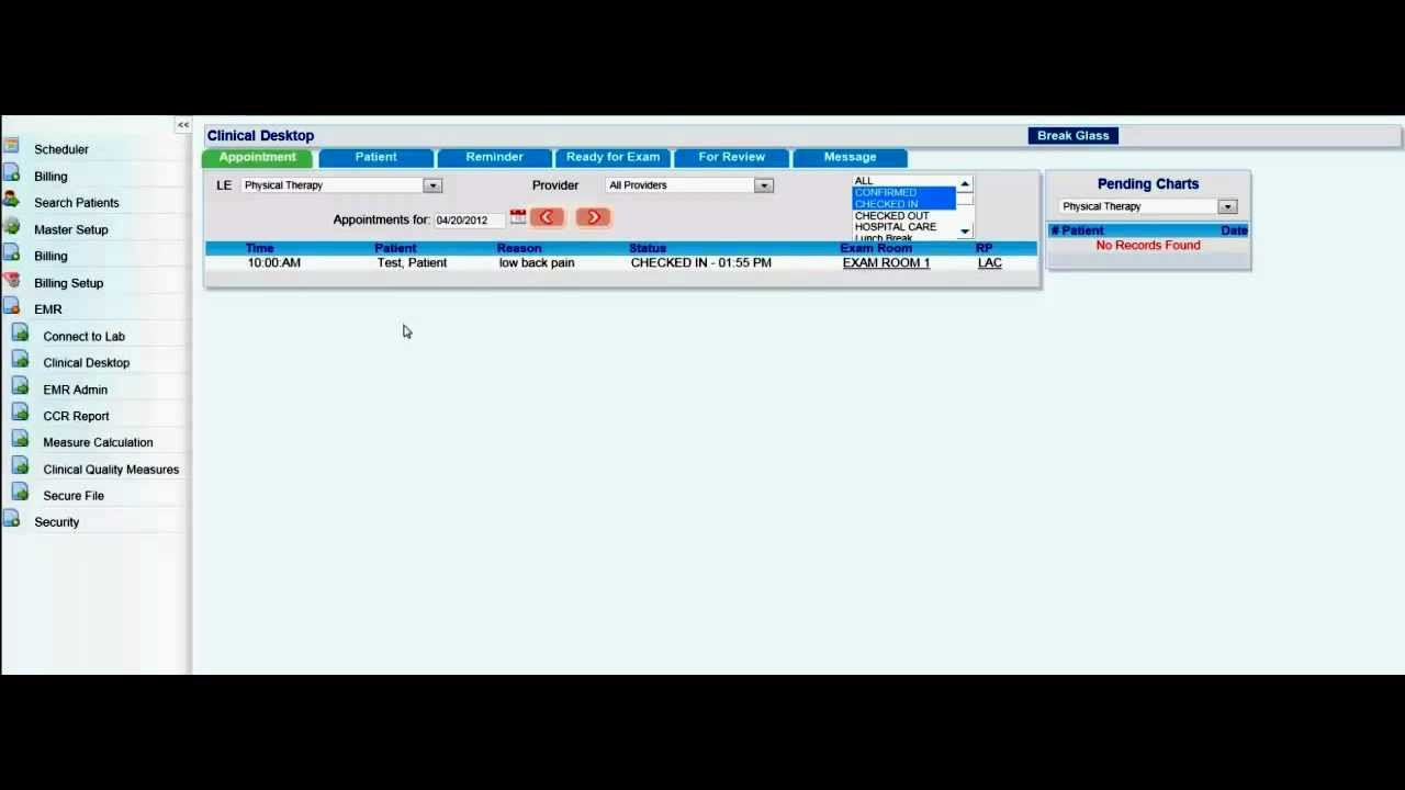 Opening a patients chart youtube 1betcityfo Choice Image