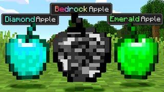 Paso Minecraft pero Hay Manzanas Personalizadas OP