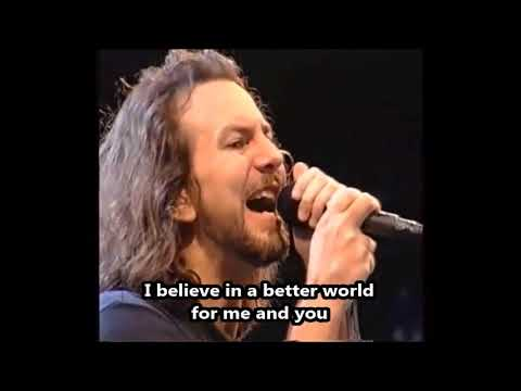 Eddie Vedder - I Believe In Miracles - Lyrics