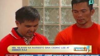 NBI: Cedric Lee at Zimmer Raz, inaresto sila at hindi kusang sumuko [April 29, '14]