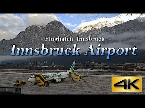 【4K】Special !!  Innsbruck Airport Austria 2017 the Amazing Airport Spotting