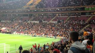 GS-Sivas Sneijder in frikik golü (Tribün çekimi) HD